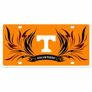 Tennessee Volunteers Flame License Plate