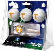 Tennessee Volunteers Golf Ball Gift Pack with Kool Tool