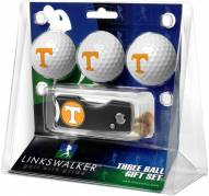 Tennessee Volunteers Golf Ball Gift Pack with Spring Action Divot Tool