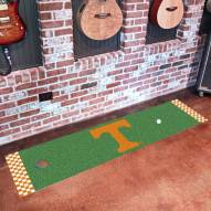 Tennessee Volunteers Golf Putting Green Mat