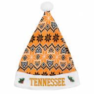Tennessee Volunteers Knit Santa Hat