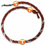 Tennessee Volunteers Leather Football Necklace