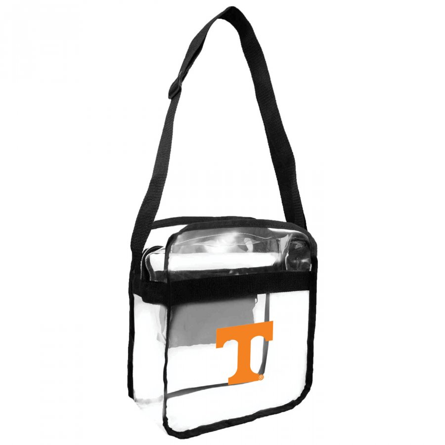 Tennessee Volunteers NCAA Clear Crossbody Carry-All Bag