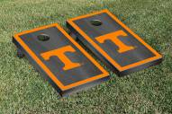 Tennessee Volunteers Onyx Stained Border Cornhole Game Set