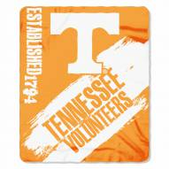 Tennessee Volunteers Painted Fleece Blanket