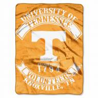 Tennessee Volunteers Rebel Raschel Throw Blanket