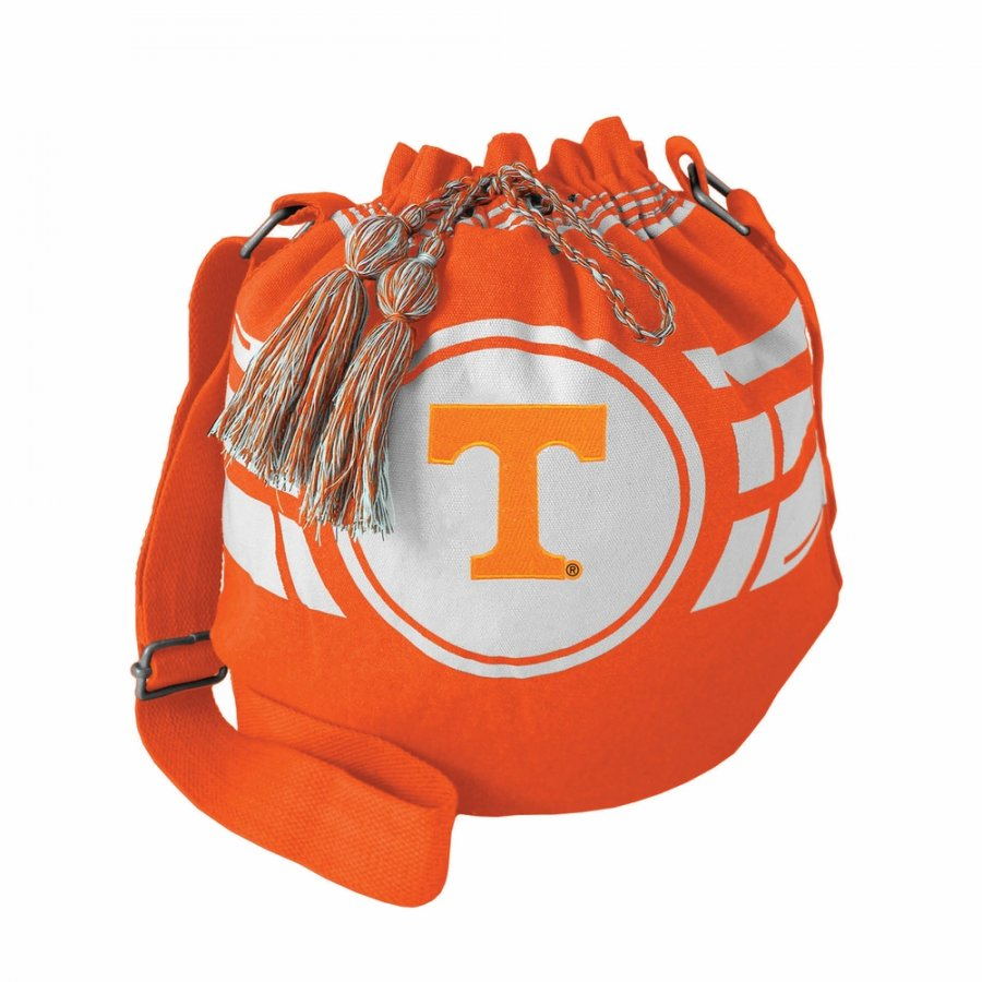 Tennessee Volunteers Ripple Drawstring Bucket Bag