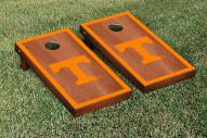 Tennessee Volunteers Rosewood Stained Border Cornhole Game Set