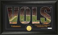 Tennessee Volunteers Silhouette Bronze Coin Panoramic Photo Mint