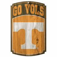Tennessee Volunteers Wood Sign