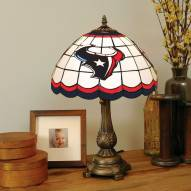 Houston Texans NFL Stained Glass Table Lamp
