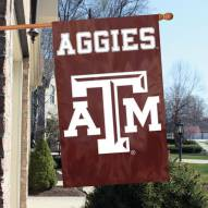 Texas A & M NCAA Embroidered / Applique College Flag Banner