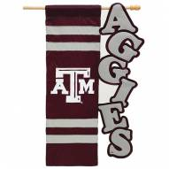 "Texas A&M Aggies 28"" x 44"" Applique Flag"