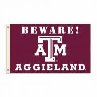 Texas A&M Aggies 3' x 5' Beware Flag
