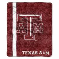 Texas A&M Aggies Jersey Sherpa Blanket