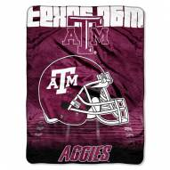 Texas A&M Aggies Micro Raschel Overtime Blanket