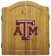 Texas A&M Aggies NCAA Complete Dart Board Cabinet Set