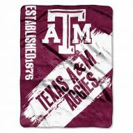 Texas A&M Aggies Painted Fleece Blanket