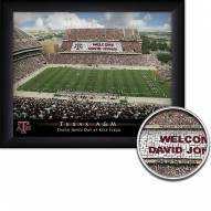 Texas A&M Aggies Personalized Framed Stadium Print