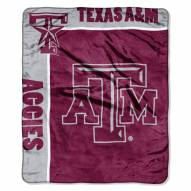 Texas A&M Aggies School Spirit Raschel Throw Blanket
