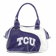 Texas Christian Horned Frogs Perf-ect Bowler Purse