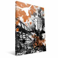 "Texas Longhorns 16"""" x 24"""" Spirit Canvas Print"