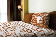 Texas Longhorns Anthem Twin Bed Sheets