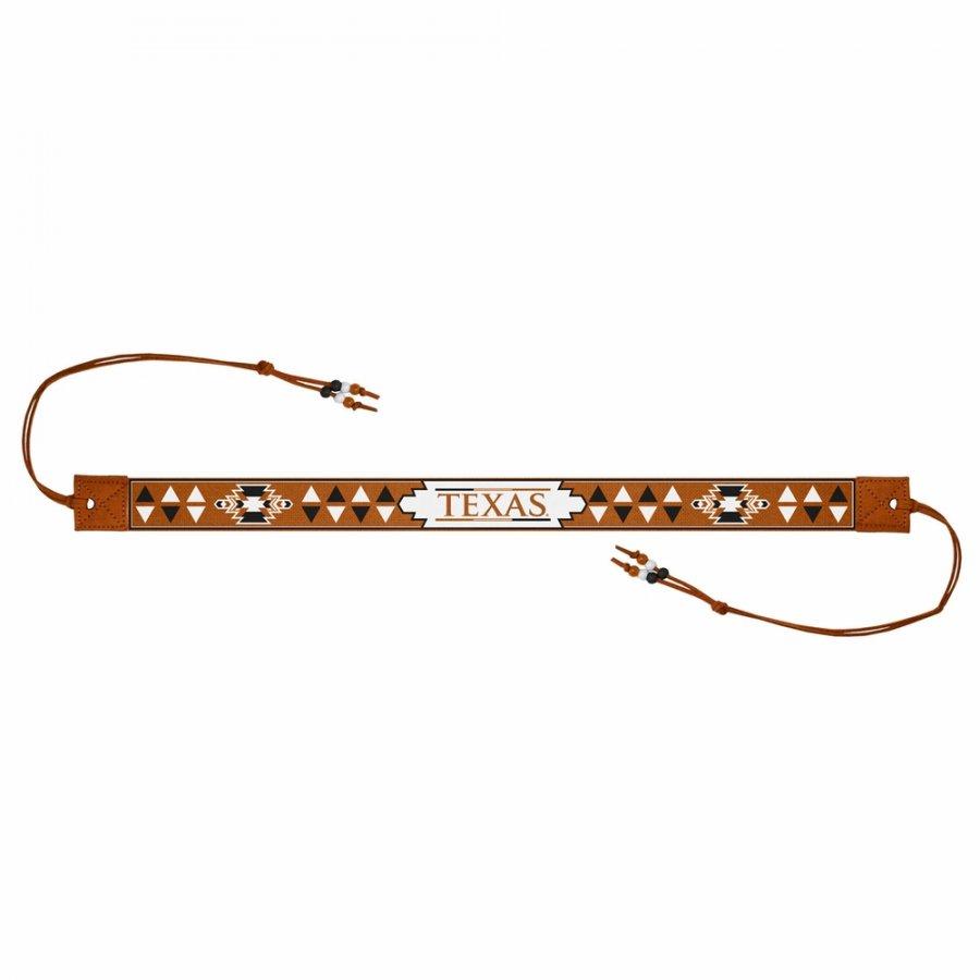 Texas Longhorns Beaded Headwrap