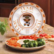 Texas Longhorns Ceramic Chip and Dip Serving Dish