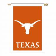 "Texas Longhorns 28"" x 44"" Double Sided Applique Flag"