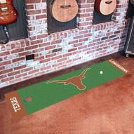 Texas Longhorns Golf Putting Green Mat