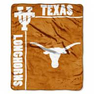 Texas Longhorns Jersey Mesh Raschel Throw Blanket