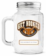 Texas Longhorns Mason Glass Jar