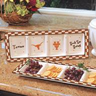 Texas Longhorns NCAA Ceramic Relish Tray