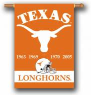 "Texas Longhorns Premium Championship Year 28"" x 40"" Two-Sided Banner"