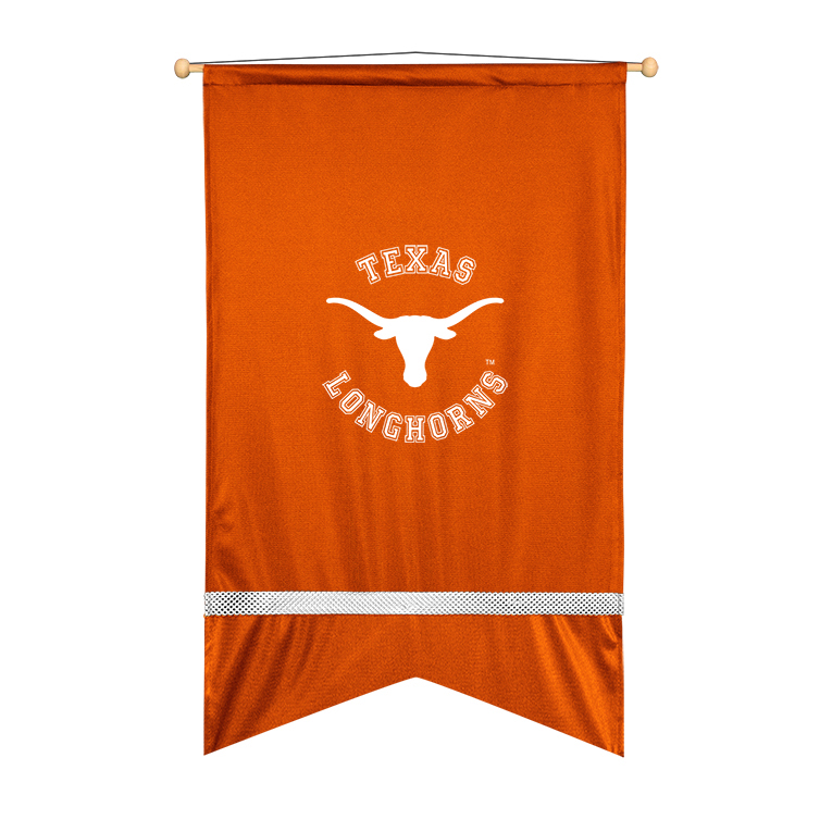 Texas Longhorns Sidelines Wall Flag