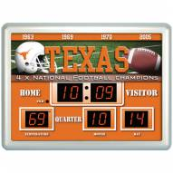 Texas Longhorns Thermometer Scoreboard Clock