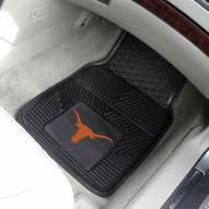 Texas Longhorns Vinyl 2-Piece Car Floor Mats
