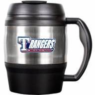 Texas Rangers 52 Oz. Stainless Steel Macho Travel Mug