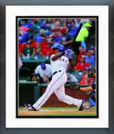 Texas Rangers Adrian Beltre 2014 Action Framed Photo