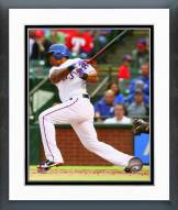 Texas Rangers Adrian Beltre 2015 Action Framed Photo