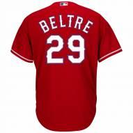 Texas Rangers Adrian Beltre Replica Scarlet Alternate Baseball Jersey