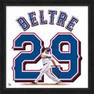 Texas Rangers Adrian Beltre Uniframe Framed Jersey Photo