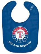 Texas Rangers All Pro Little Fan Baby Bib