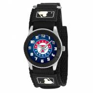 Texas Rangers Black Rookie Kids Watch
