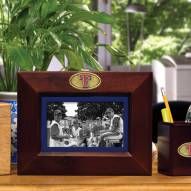 Texas Rangers Brown Landscape Picture Frame