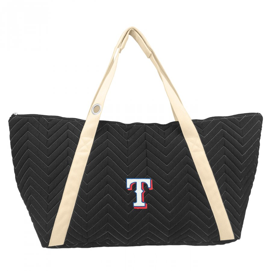 Texas Rangers Chevron Stitch Weekender Bag