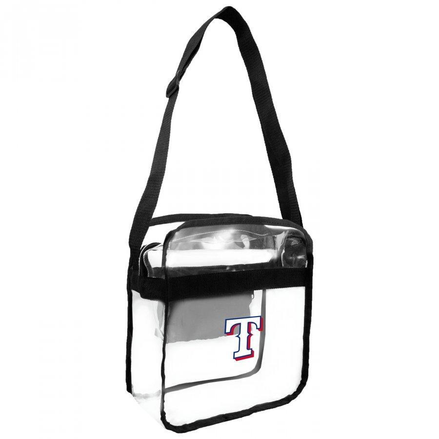 Texas Rangers Clear Crossbody Carry-All Bag