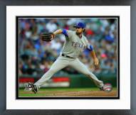 Texas Rangers Cole Hamels 2015 Action Framed Photo