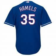 Texas Rangers Cole Hamels Replica Royal Alternate Baseball Jersey